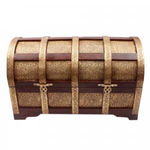 WDN HALF ROUND BOX BRS JALI