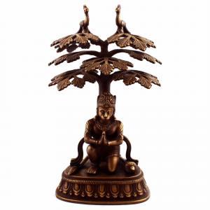HANUMAN PRAYER WITH UNDER TREE AQ