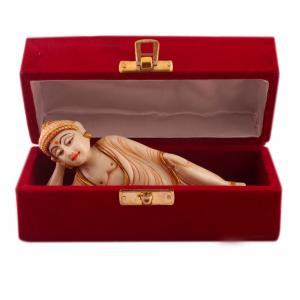 MARBLE BUDDA SLEEPING