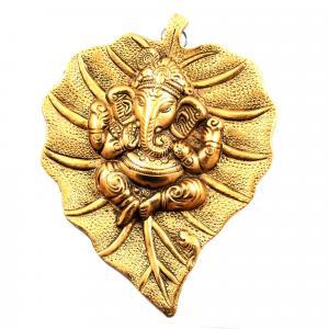 WALL HANGING GANESHA (GOLD)