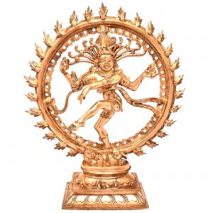 PANCHALOHA NATARAJA WITH RING