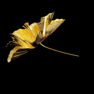 Gold Plated Pooja Flower
