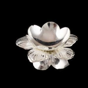Silver Pooja Flower