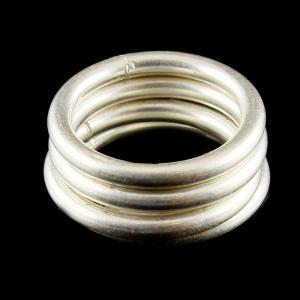 4 Band Set Toe Rings