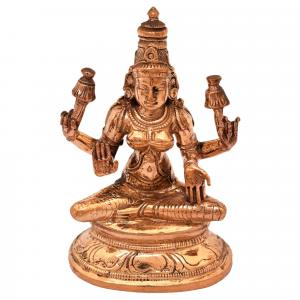 PANCHALOHA LAKSHMI SITTING ON BASE