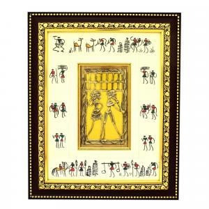 DHOKRA ART WALL HANGING