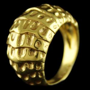Silver Gold Plated Plain Fancy Finger Rings
