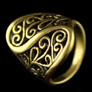 Silver Gold Plated Fancy Design Finger Rings