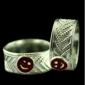 Silver Fancy Design Toe Ring