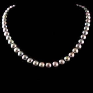 SilverFancy Design Pearl Necklace