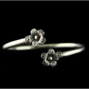 Antique Design Flex Bangle Studded Semi Precious stones