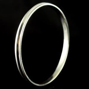 Silver Oxidized Fancy Bangle Studded Semi precious Stones