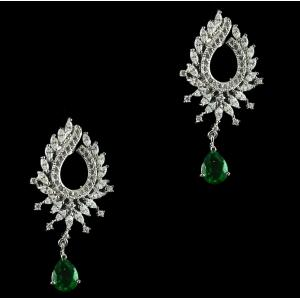 SWAROVSKI DROPS EARRINGS