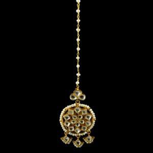 Silver Gold Plated Kuddan Nethi Chutti