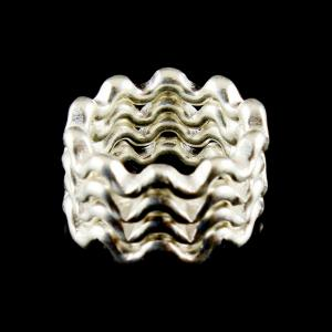 Zig Zac Design Toe Ring