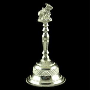 Silver Plated Fancy Design Bell