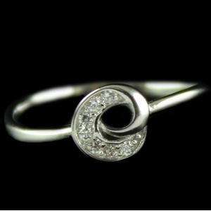 Silver Design Fancy Ring