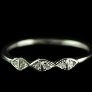 Silver Fancy Ring For Woman