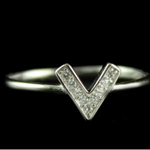 Silver Fancy Design Ring For Woman
