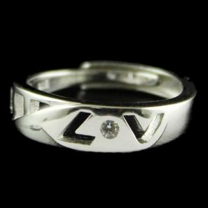 Silver Fancy Design Band Rings