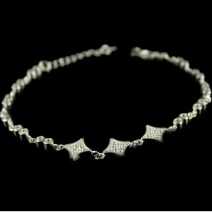 Silver Plated Fancy Design Bracelets