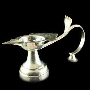 Silver Aarti Set