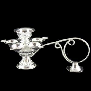 Silver Pooja Item Aarti