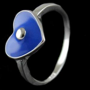 Silver Baby Ring With Enamel