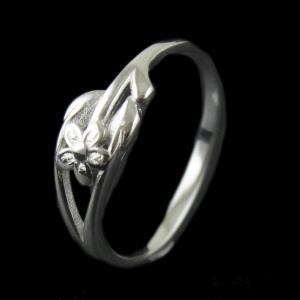Silver Fancy Design Ring