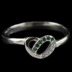 R4635 Sterling Silver Fancy Ring Studded Zircon Stone