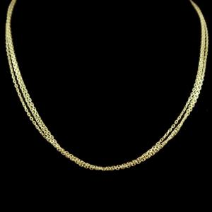 Gold Plated Bunch Chain