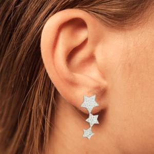 Swarovski Star Hanging Earrings