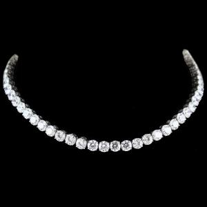 Swarovski Solitaire Stone Necklace