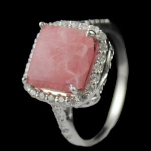 Agate Stone Party Wear Ring