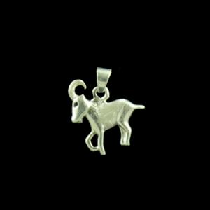 Zodiac Aries Sun Sign Traditional Pendant