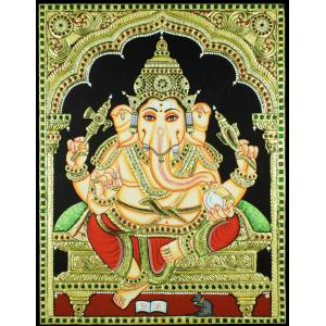 Red Dhoti Ganesha