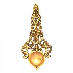 brass aarthi spoon