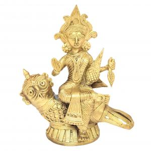 DHOKRA LAKSHMI WITH OWL