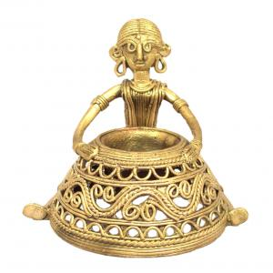DHOKRA CANDLE STAND
