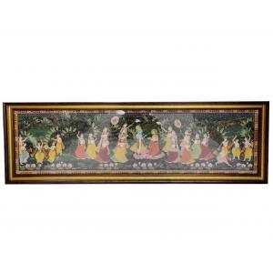 KRISHNA WITH GOPI CANVAS PAINTINGS