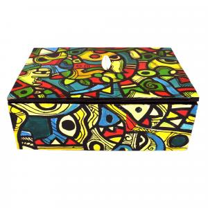 DRY FRUITS PAINTED BOX