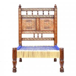 WOODEN BACK REST CHAIR