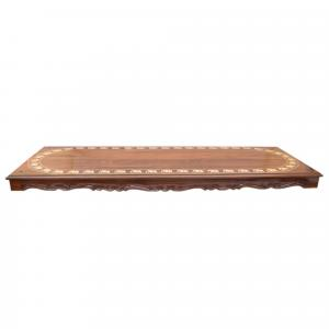 ROSEWOOD JHULA PLANK WITH ELEPHANT INLAY WORK