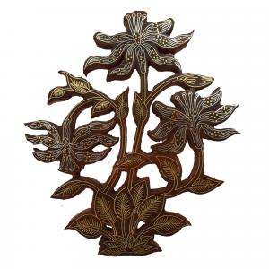 WOODEN INLAY WALL HANGING TREE