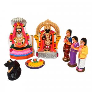 GOLU DOLL ARUNACHALESHWARA SET OF 7 PCS
