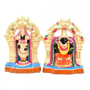 GOLU DOLL BALAJI PADMAVATHI SET OF 2 PCS