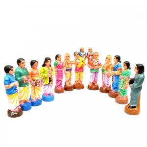 GOLU DOLL MARRIAGE SET OF 12 PCS