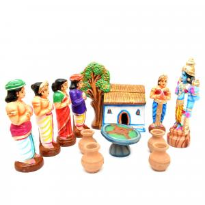 GOLU DOLL ANNA PERUMAL SET OF 13 PCS
