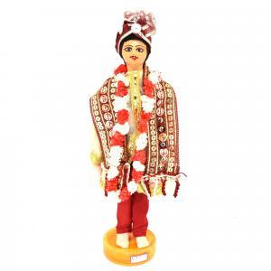 BENGALI FINE ART HAND MADE DOLL UTTAR PRADESH GROOM