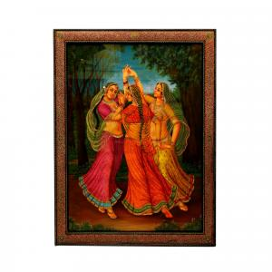 HAND MADE PAINTING LADY DANCING